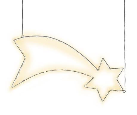Decoratiune luminoasa suspendabila pentru exterior Lumiwall Comet