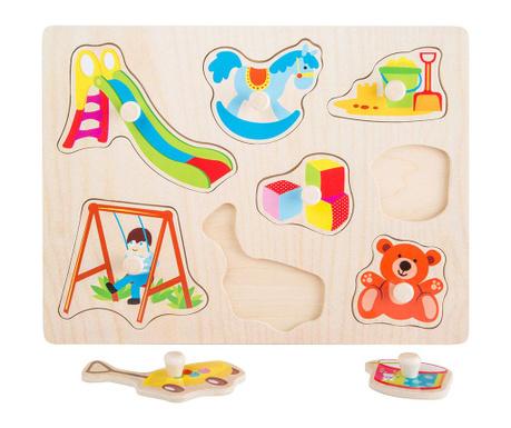 Gra typu puzzle 9 elementów Toys