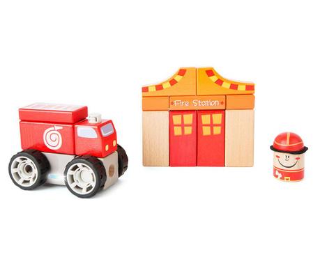 Zestaw do konstruowania 15 elementów Fire Brigade