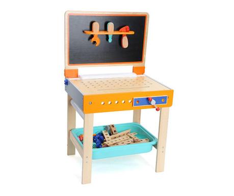 Stolik warsztatowy z narzędziami zabawkowymi Akya
