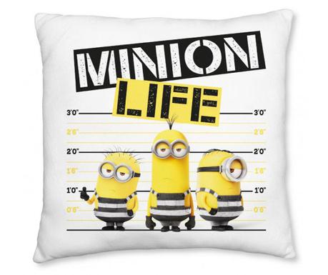 Minions Life Díszpárna 40x40 cm