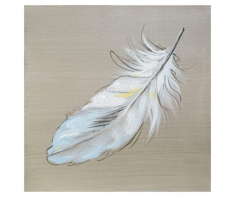 Feather Festmény 30x30 cm