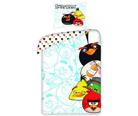 Posteľná sada Single Ranforce Extra Angry Birds Movie Light