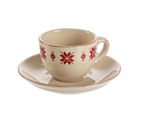 Zestaw filiżanka i spodek Tirol Espresso