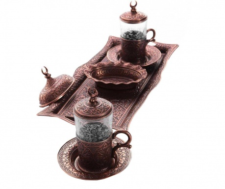 Сервиз за кафе 9 части Khali Copper