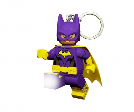 Obesek za ključe z lučko Lego Batgirl