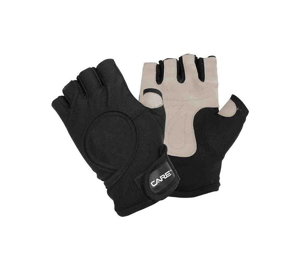 Fitness rukavice Care Gloves Leather L