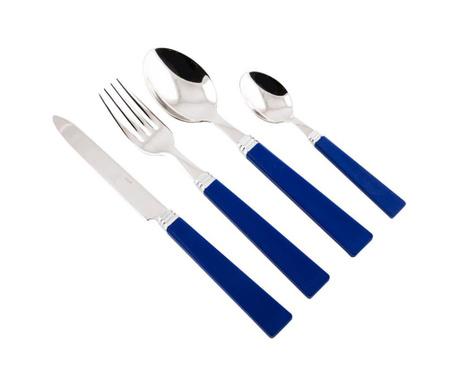 Комплект прибори за хранене 24 части Patio Blue