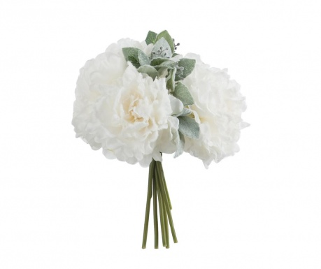 Buchet flori artificiale Cream Peony