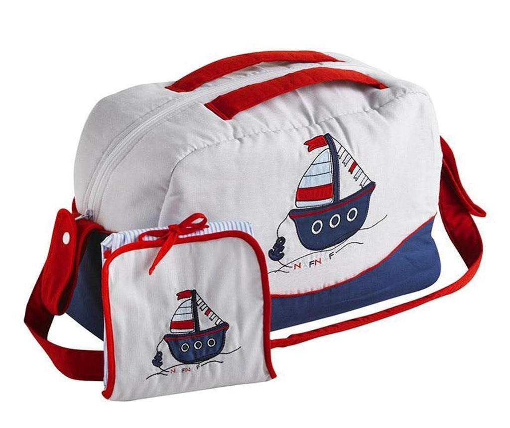 Set geanta si saltea pliabila pentru schimbat scutece Boat