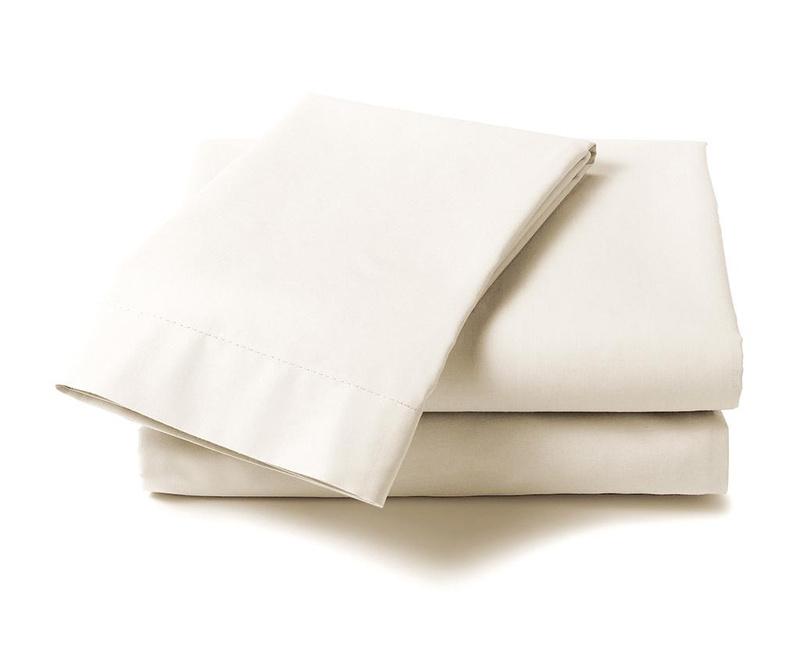 Cearsaf de pat Satin Saty Off White 270x290 cm
