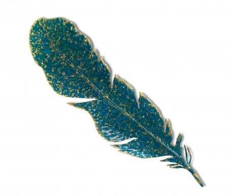 Zidni ukras Feather Blue