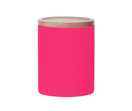 Posuda s poklopcem Silk Neon Pink Tall