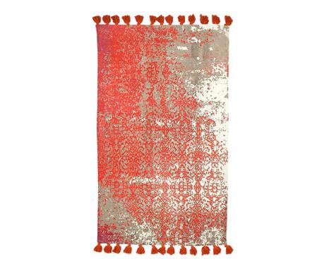 Килим тип черга Milo Red 90x150 см