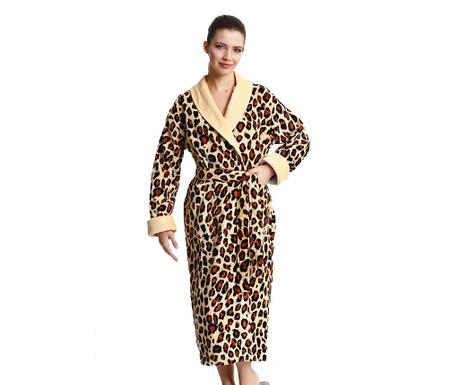 Halat de baie dama Mile Leopard