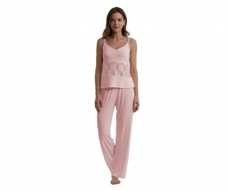 Dámské pyžamo Lineea Pink