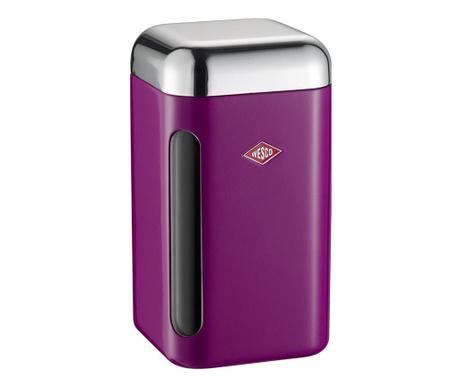Pojemnik z hermetyczną pokrywką Canister Big Purple