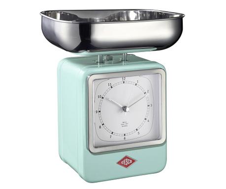 Waga kuchenna z zegarem Zadie Mint