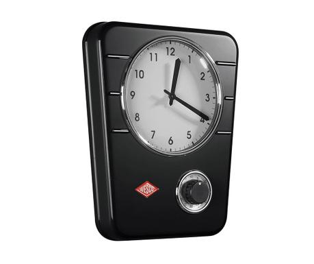 Nástěnné hodiny Clasic Black