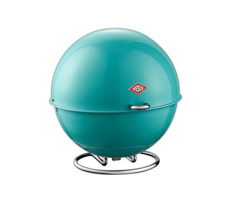 Pojemnik z pokrywką Superball Turquoise