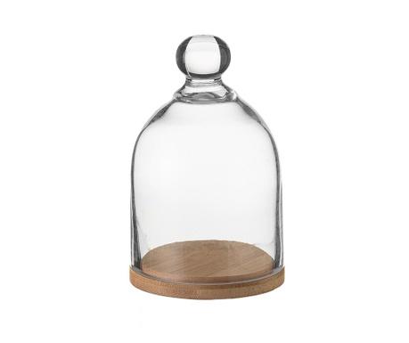 Clopot sticla cu suport Dome