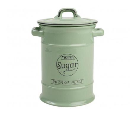 Pojemnik z pokrywką na cukier Pride Green 1 L