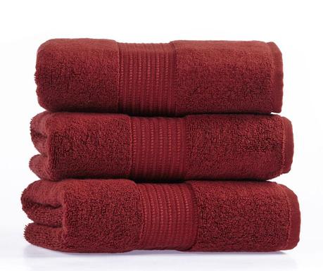 Кърпа за баня Chicago Red Wine