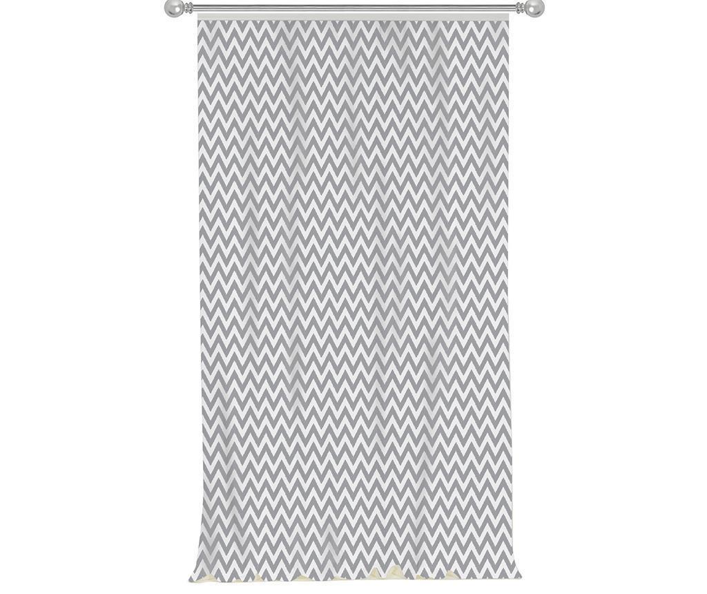 Chevron Grey Sötétítő 140x270 cm