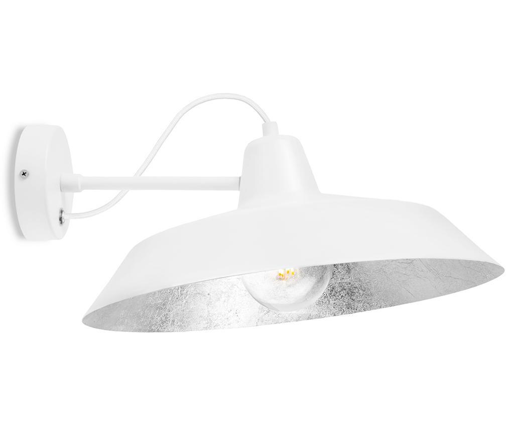 Zidna svjetiljka Cinco White Silver