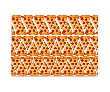 Podmetač Pizza Emoji 35x50 cm
