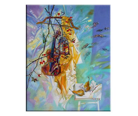 Violin Kép 100x140 cm