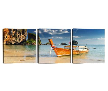 Комплект 3 картини Harobour 30x30 см