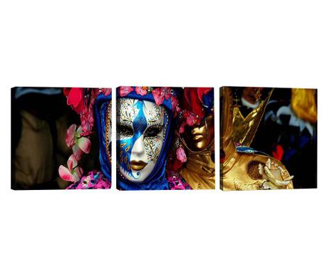 Комплект 3 картини Identity 30x30 см