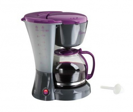 Filtru de cafea Two Colored Grey Violet 1.2 L