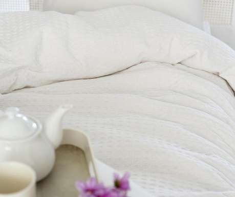 Cuvertura Pique Burum White 200x240 cm
