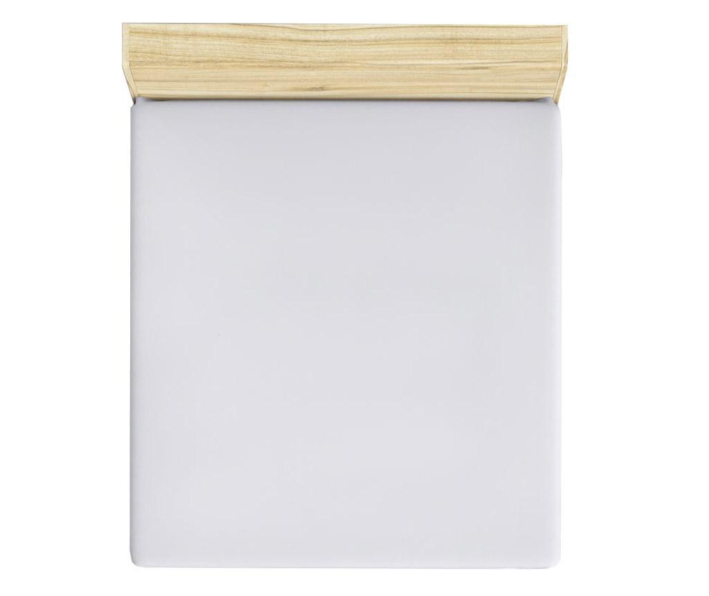 Plahta s elastičnom gumicom Mini White 160x200 cm