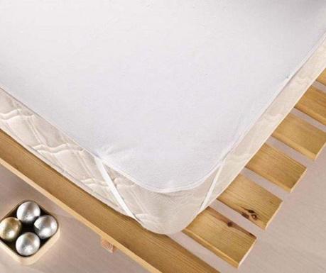 Prešita vodoodporna zaščita za vzmetnico Pure White 100x200 cm