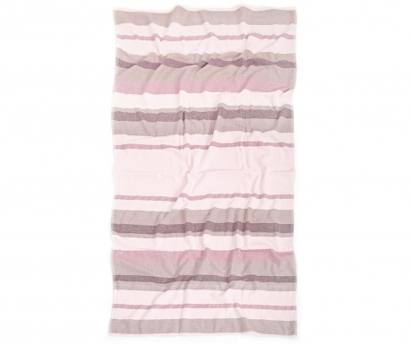 Kupaonski ručnik Pestemal East Salmon Pink 80x160 cm
