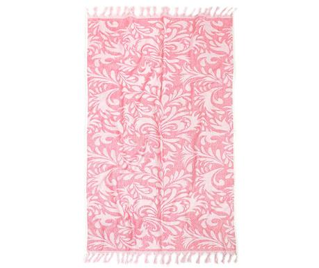 Kopalniška brisača Peshtemal Artemis Pink 80x160 cm