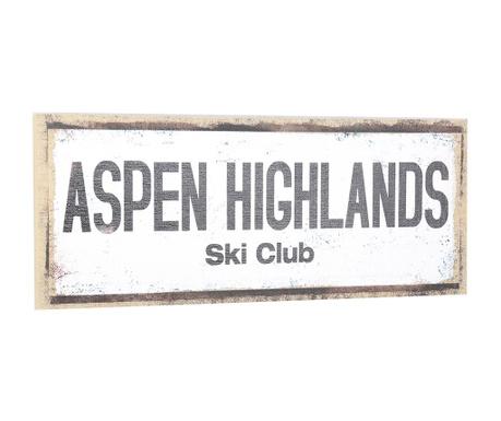 Nástěnná dekorace Aspen