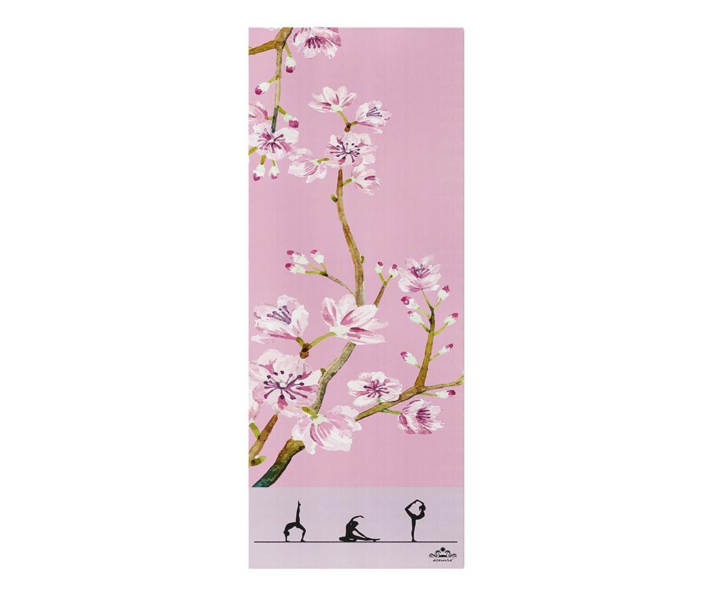Madrac za yogu Flora 65x185 cm