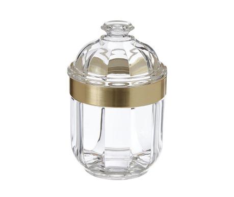 Recipient cu capac ermetic Clear Gold 450 ml