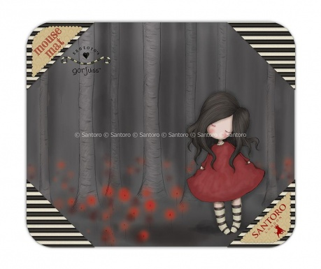 Mousepad Gorjuss Poppy Wood