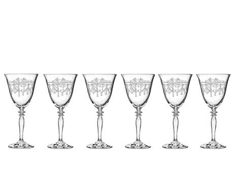 Set 6 čaša za bijelo vino Ball Season 260 ml