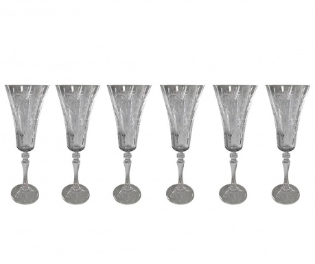 Set 6 čaša za šampanjac Alex 180 ml