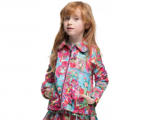 Otroška vodoodporna jakna Cokos 4 let