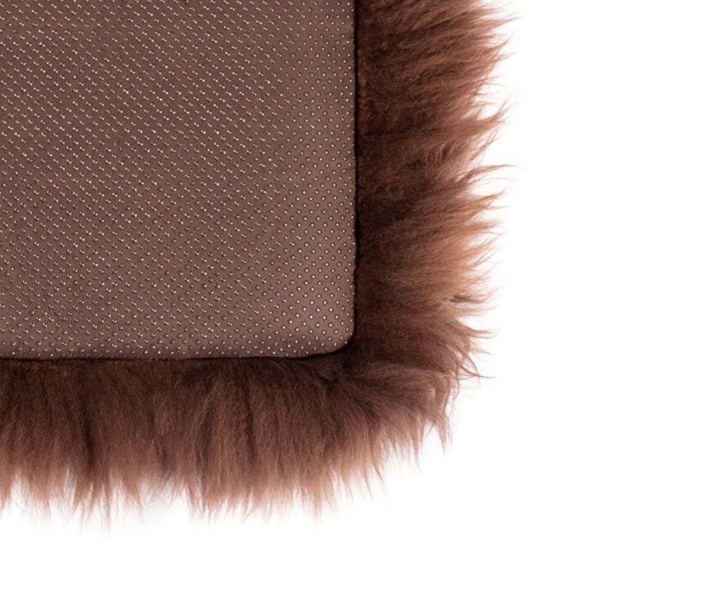 Fluffy Round Brown Ülőpárna 35 cm