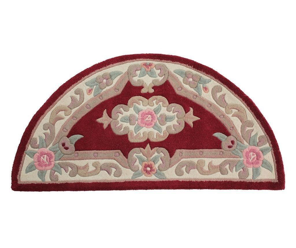 Tepih Aubusson Semicircle Red 67x127 cm