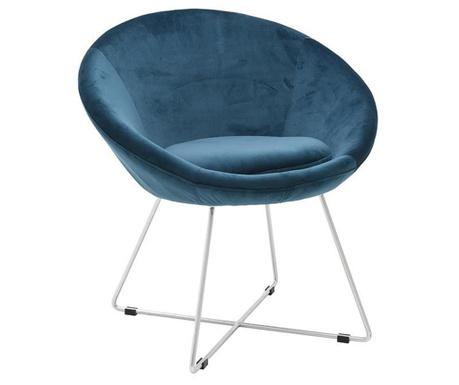 Krzesło Fergus Petrol Blue
