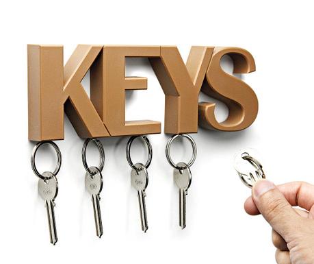 Suport magnetic pentru chei Keys Brown